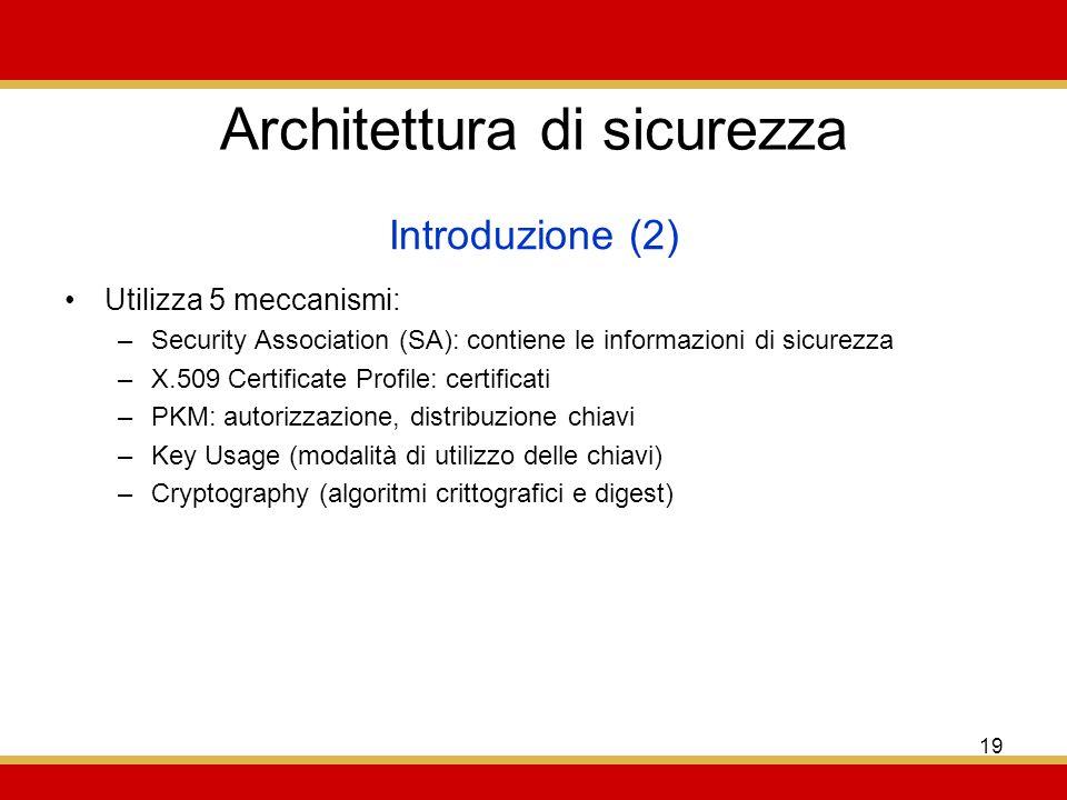 Architettura di sicurezza
