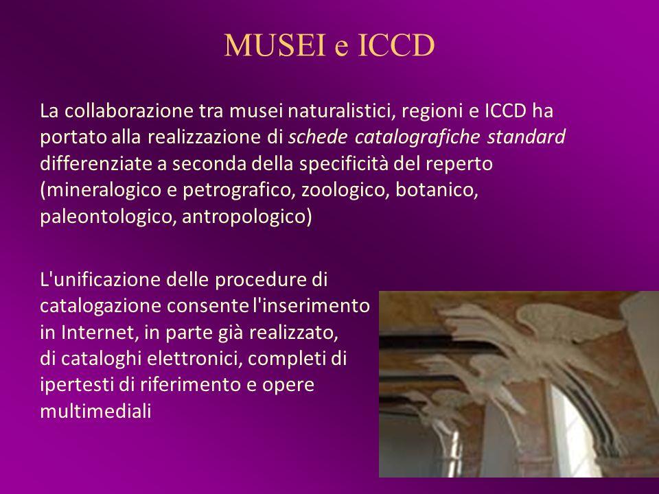 MUSEI e ICCD
