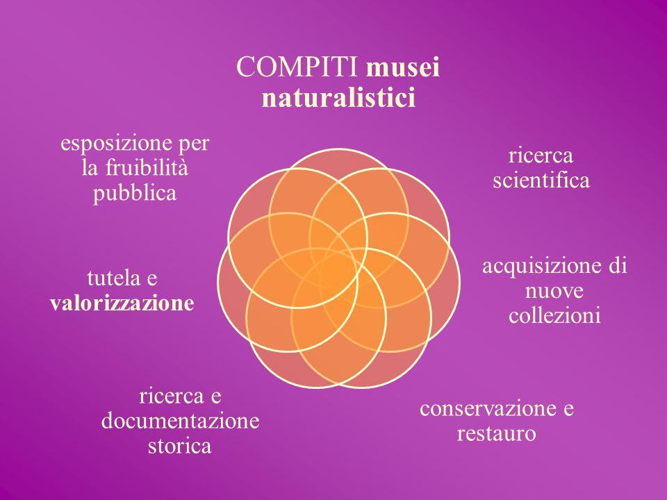 COMPITI musei naturalistici