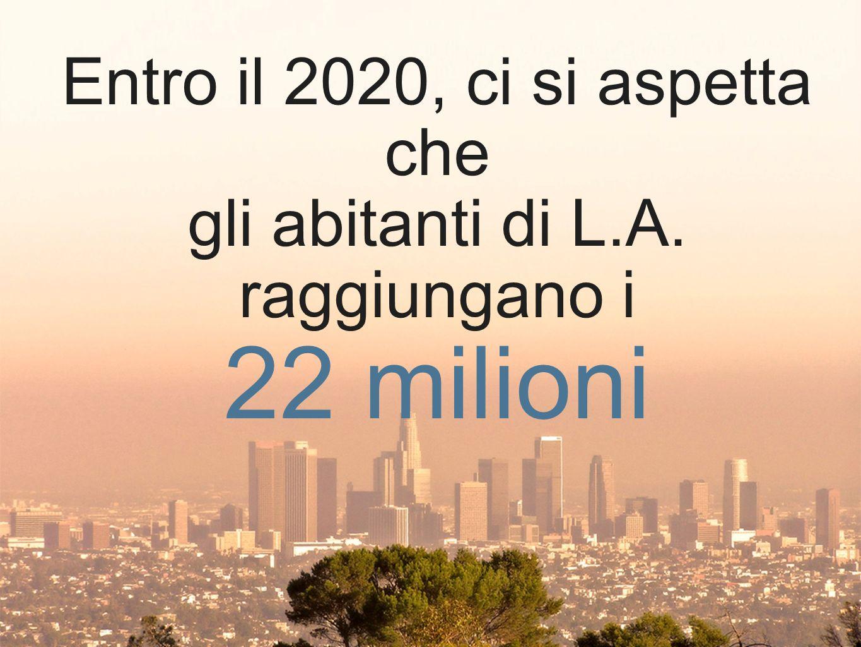 22 milioni Entro il 2020, ci si aspetta che
