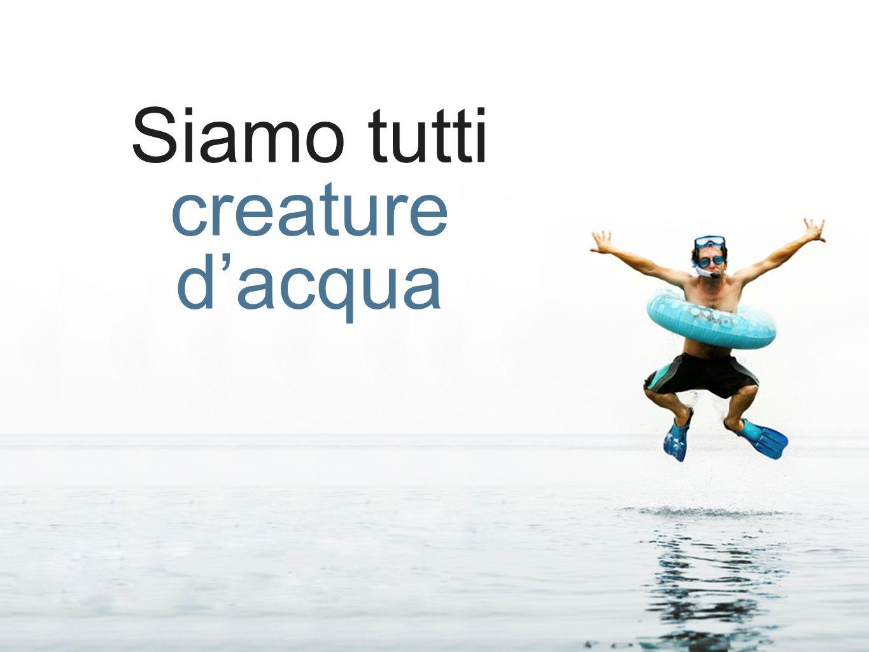 Siamo tutti creature d'acqua