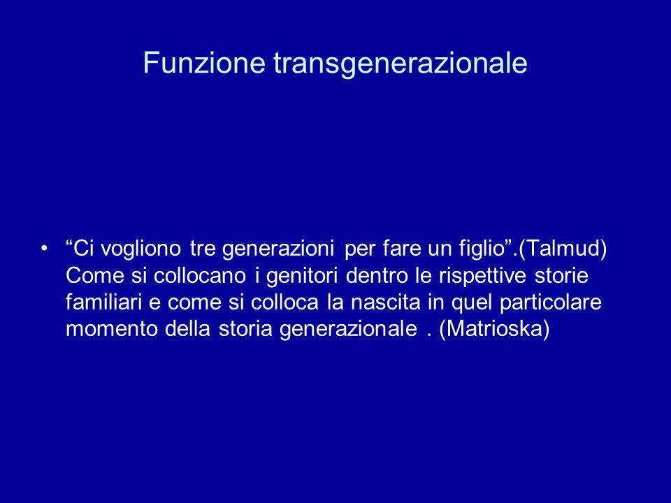 Funzione transgenerazionale