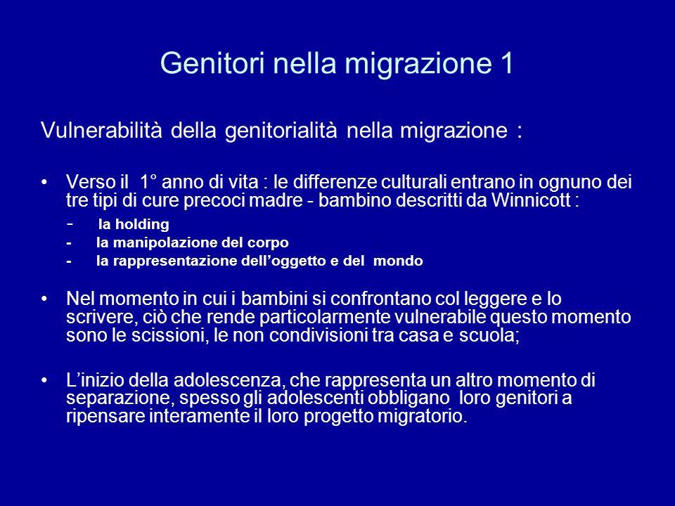 Genitori nella migrazione 1
