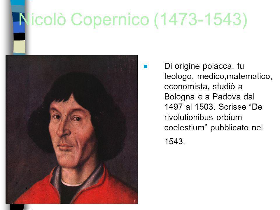 Nicolò Copernico (1473-1543)