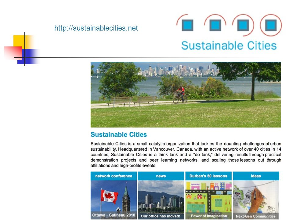 http://sustainablecities.net
