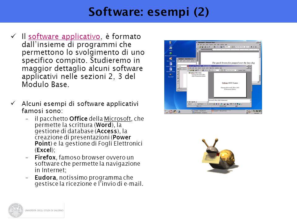 Software: esempi (2)