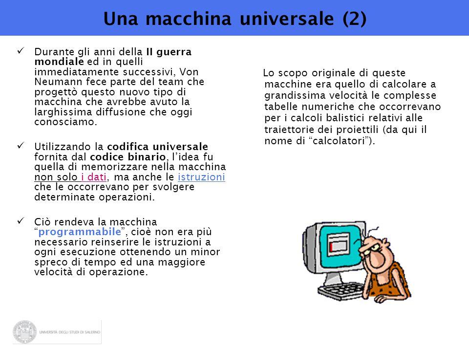 Una macchina universale (2)