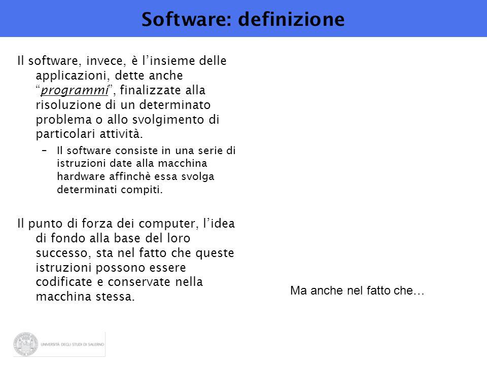 Software: definizione