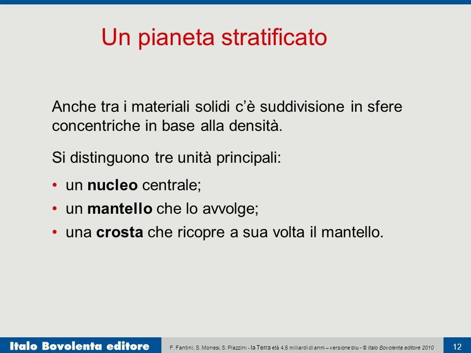 Un pianeta stratificato
