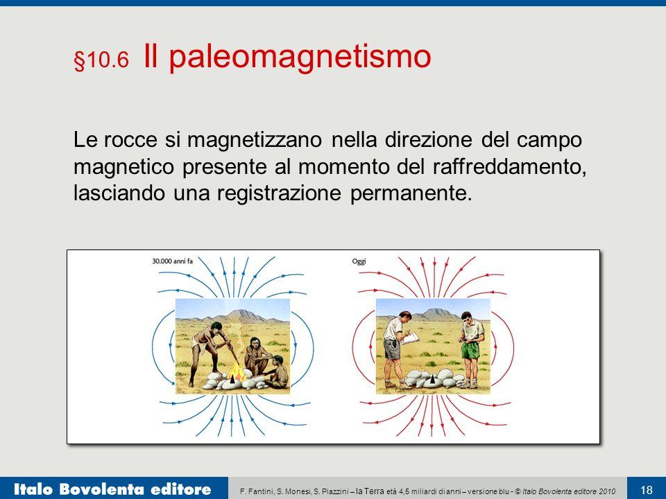 §10.6 Il paleomagnetismo