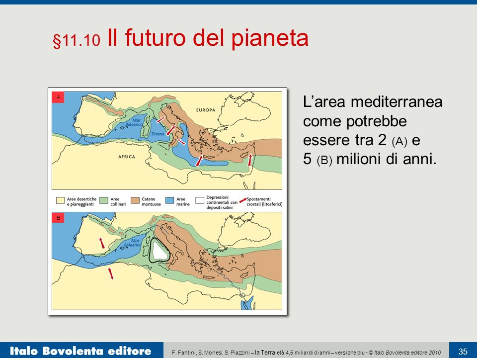 L'area mediterranea come potrebbe essere tra 2 (A) e