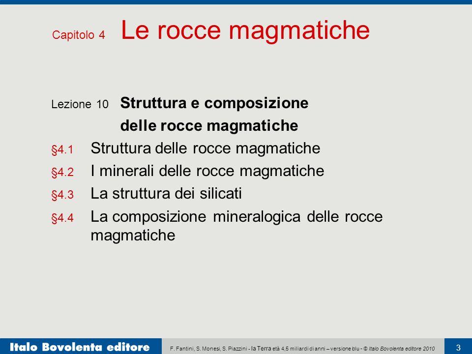 delle rocce magmatiche