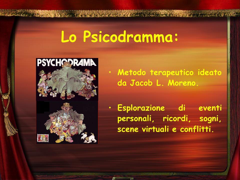 Lo Psicodramma: Metodo terapeutico ideato da Jacob L. Moreno.