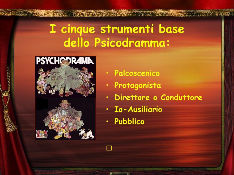 I cinque strumenti base dello Psicodramma: