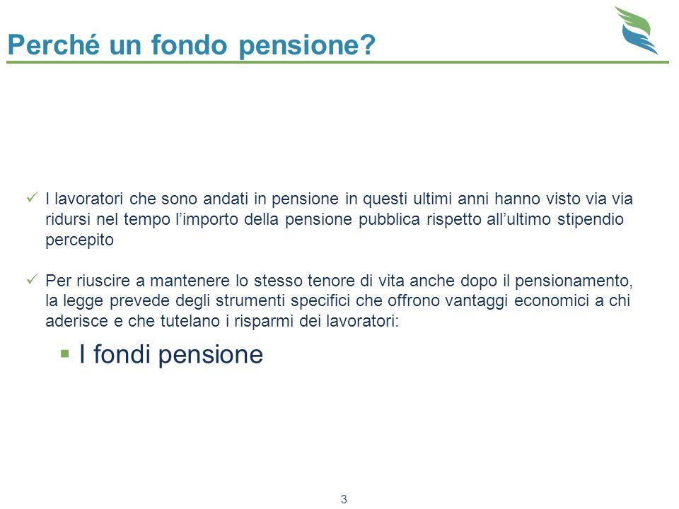 Perché un fondo pensione