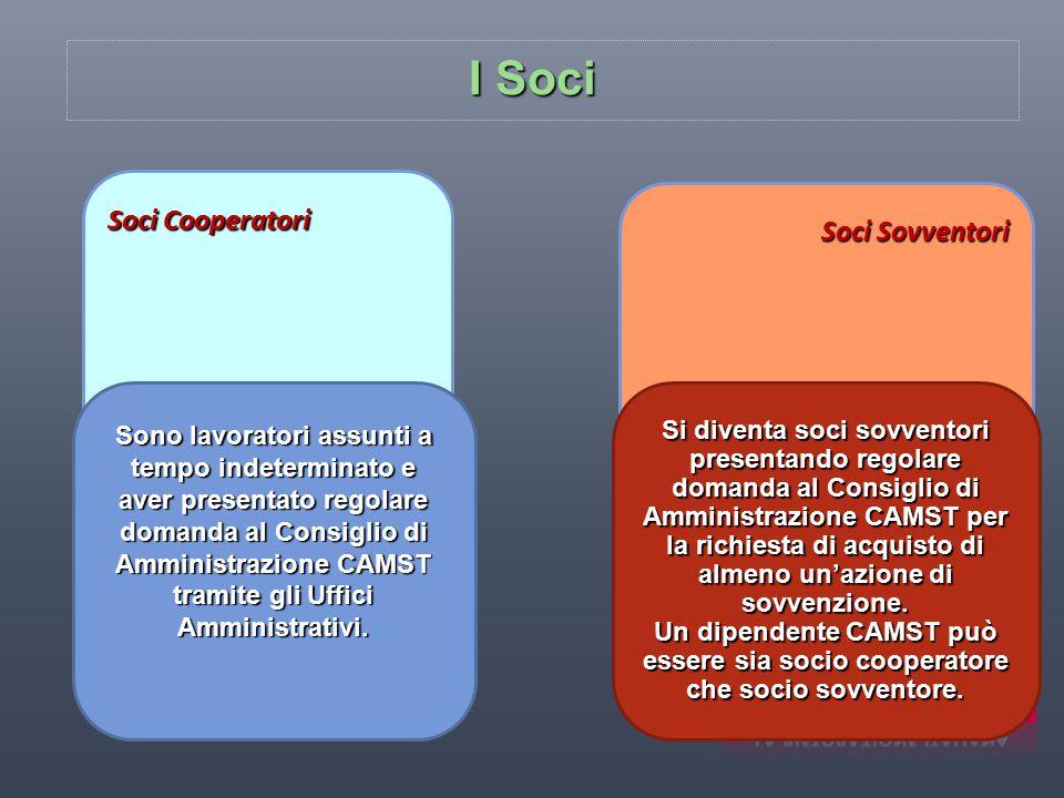 I Soci Soci Cooperatori Soci Sovventori