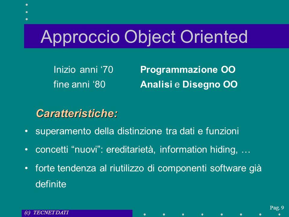 Approccio Object Oriented