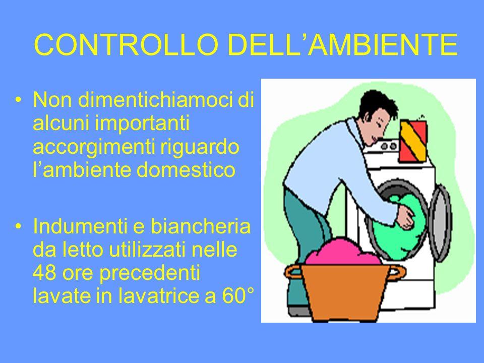 CONTROLLO DELL'AMBIENTE