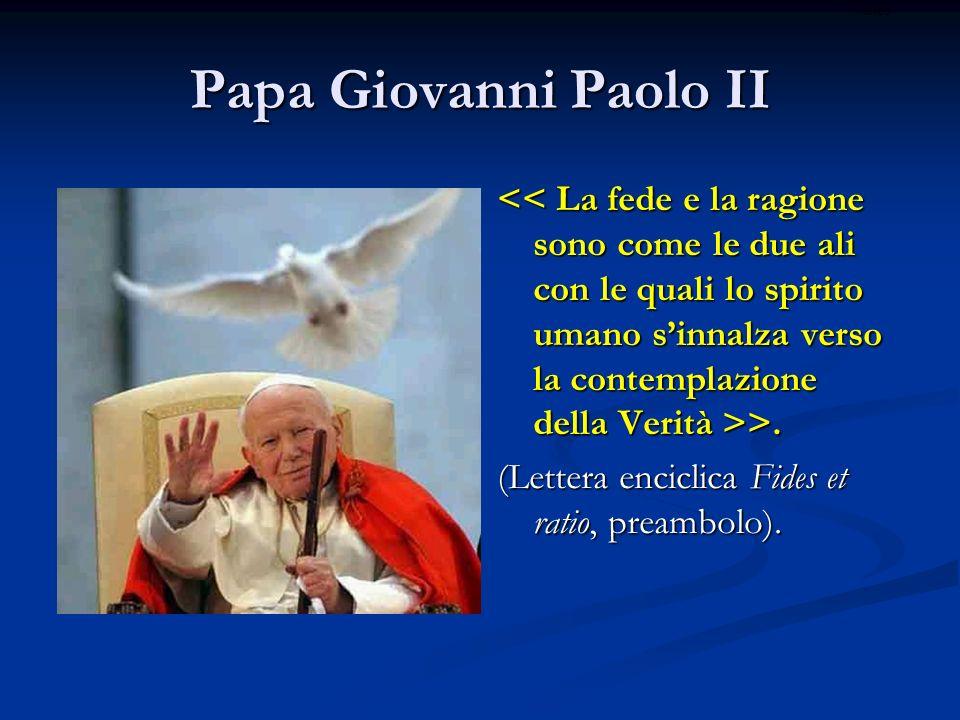 ritardo Papa Giovanni Paolo II.