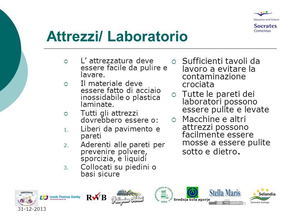 Attrezzi/ Laboratorio