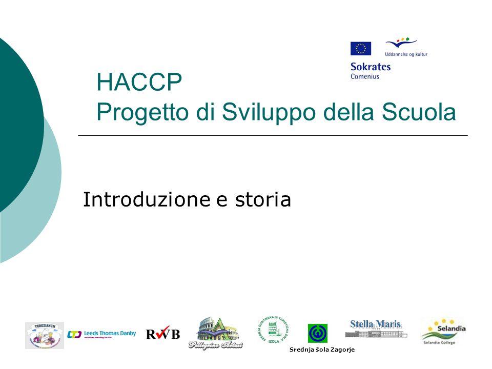 HACCP Progetto di Sviluppo della Scuola