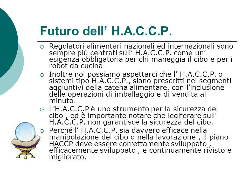 Futuro dell' H.A.C.C.P.