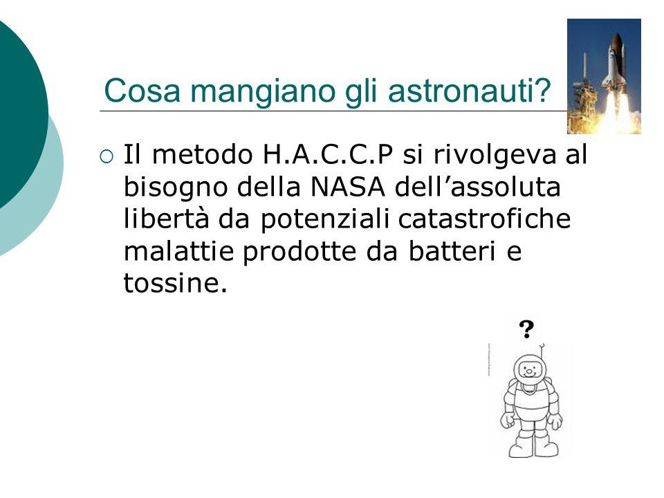 Cosa mangiano gli astronauti