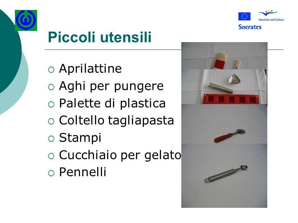 Piccoli utensili Aprilattine Aghi per pungere Palette di plastica