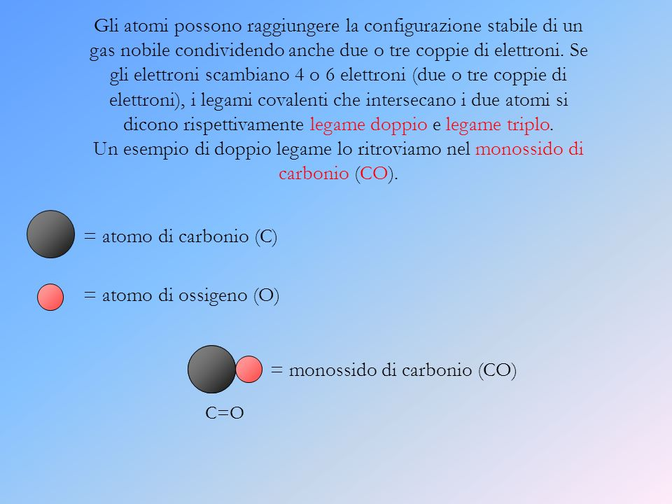 = monossido di carbonio (CO)