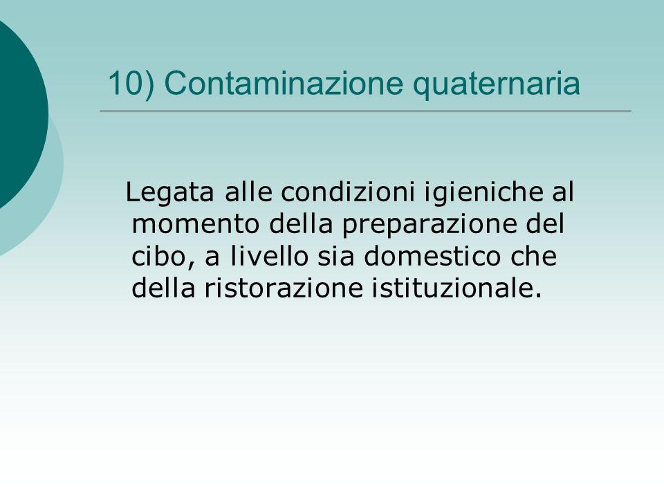10) Contaminazione quaternaria