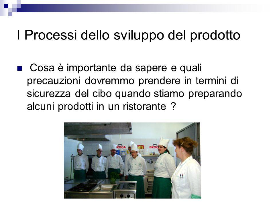 I Processi dello sviluppo del prodotto