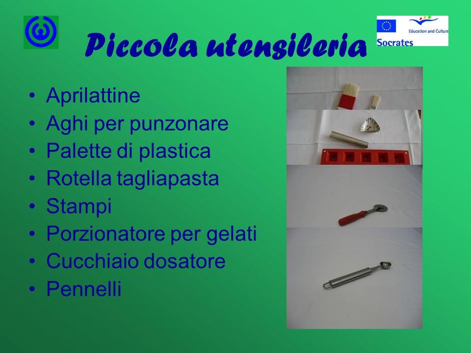Piccola utensileria Aprilattine Aghi per punzonare Palette di plastica