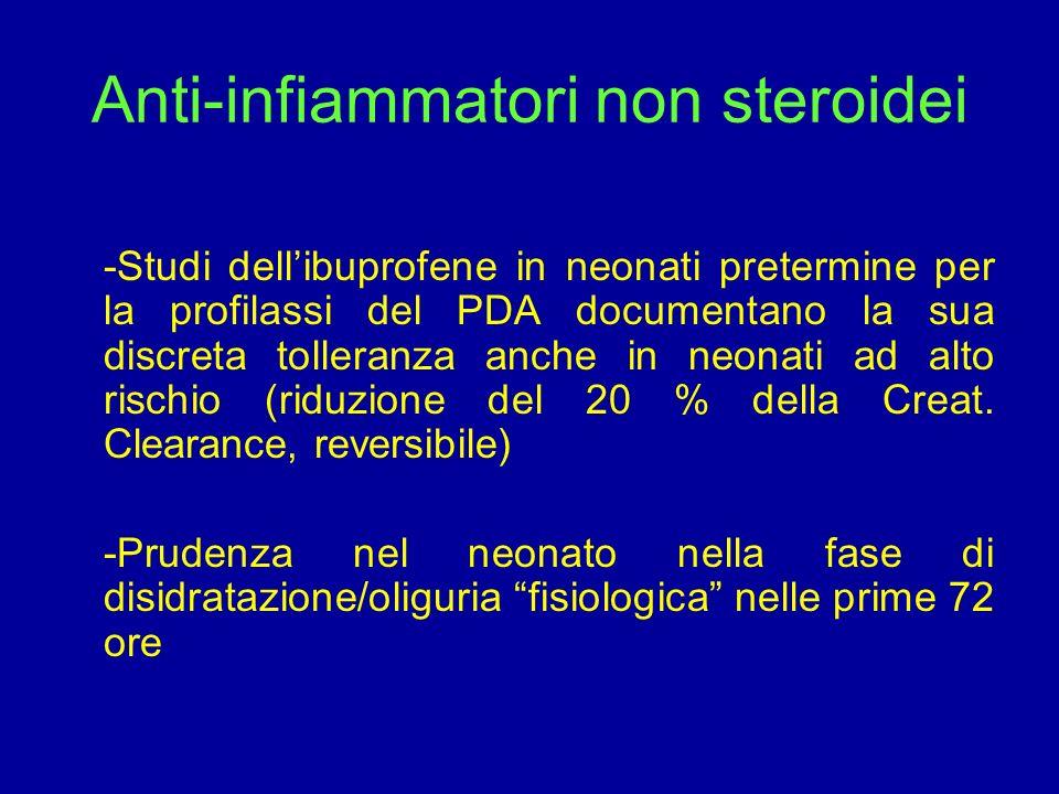 Anti-infiammatori non steroidei