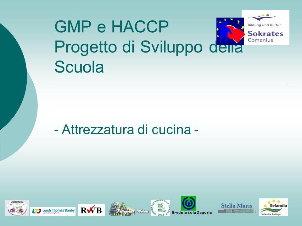 GMP e HACCP Progetto di Sviluppo della Scuola