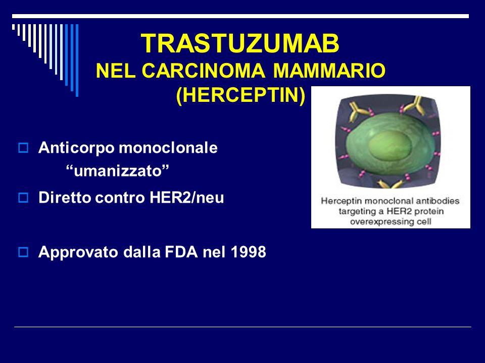TRASTUZUMAB NEL CARCINOMA MAMMARIO (HERCEPTIN)