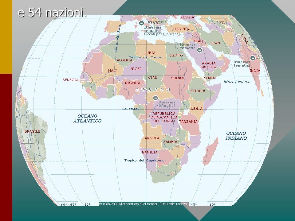 e 54 nazioni.