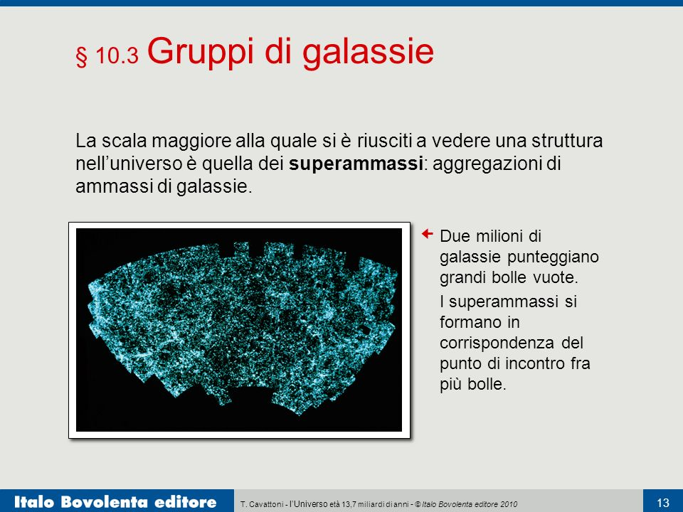 § 10.3 Gruppi di galassie