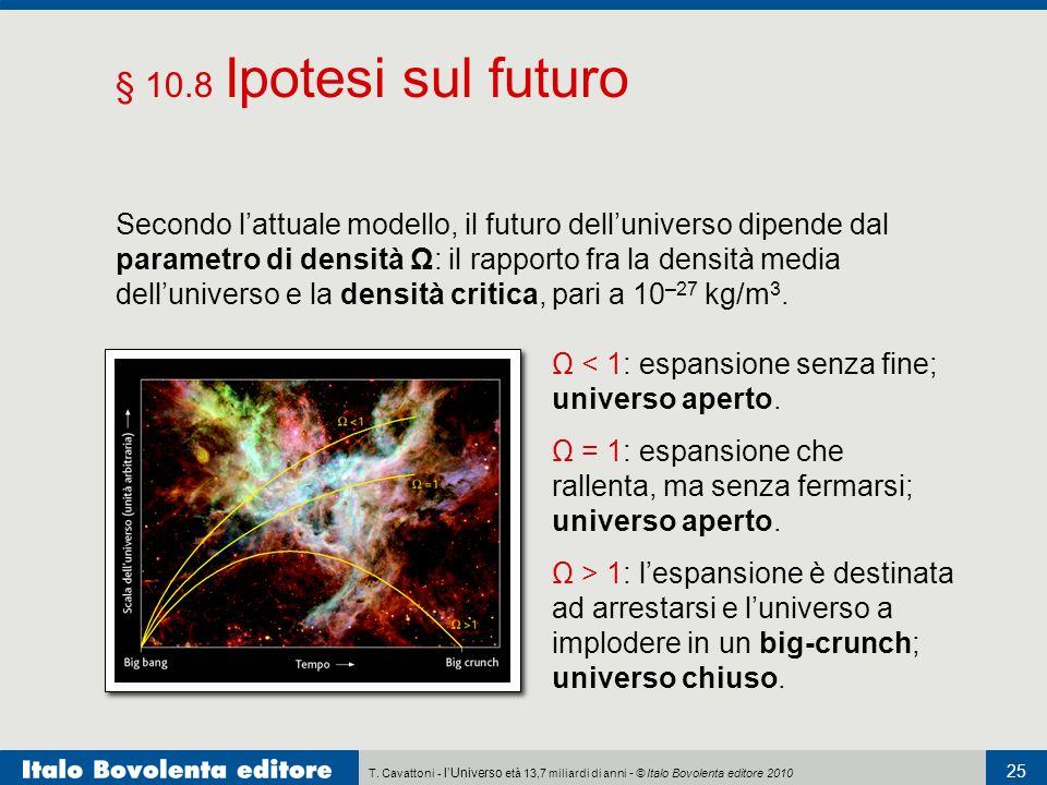 § 10.8 Ipotesi sul futuro