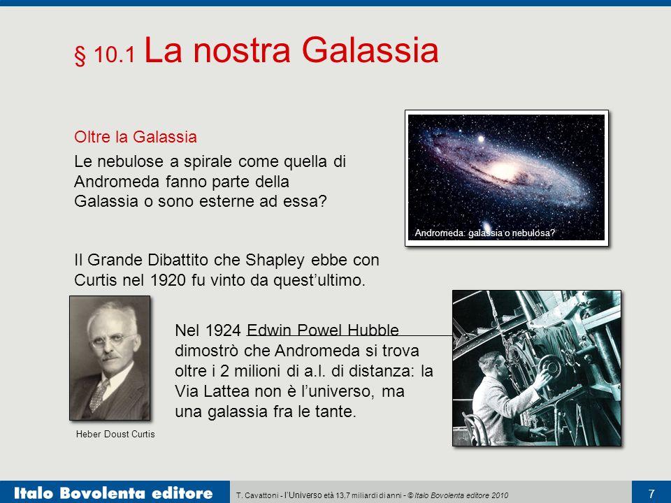 § 10.1 La nostra Galassia Oltre la Galassia
