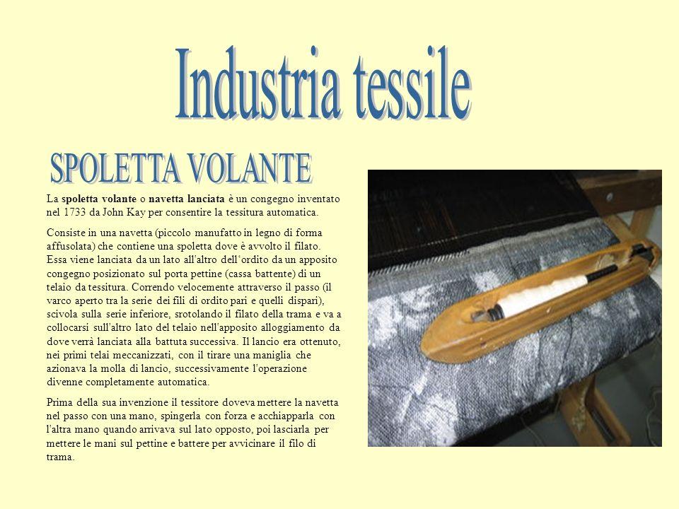 Industria tessile SPOLETTA VOLANTE