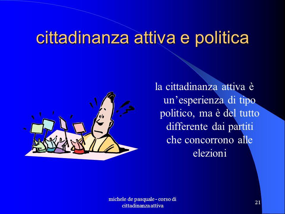 cittadinanza attiva e politica