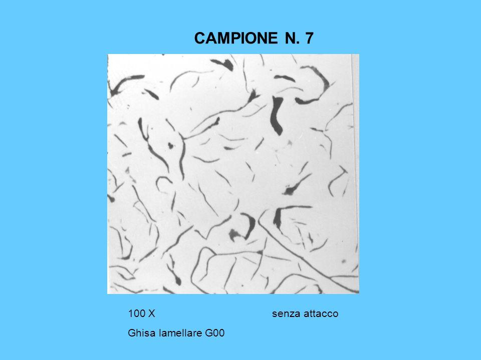 CAMPIONE N. 7 100 X senza attacco Ghisa lamellare G00