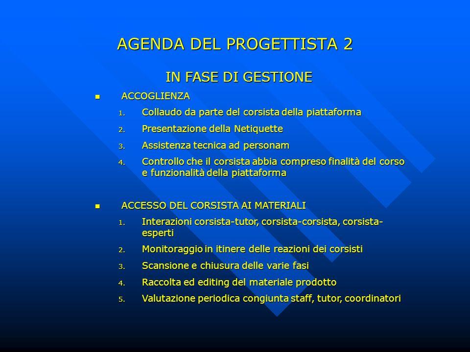 AGENDA DEL PROGETTISTA 2