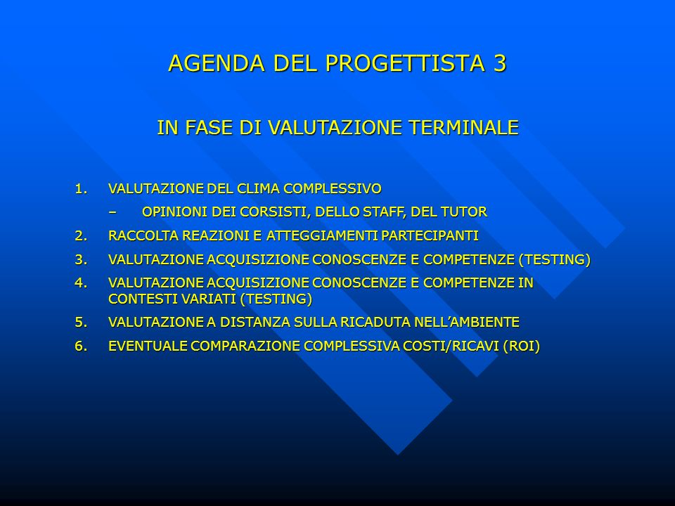 AGENDA DEL PROGETTISTA 3