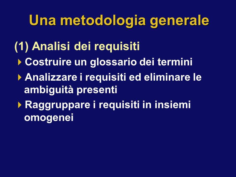 Una metodologia generale