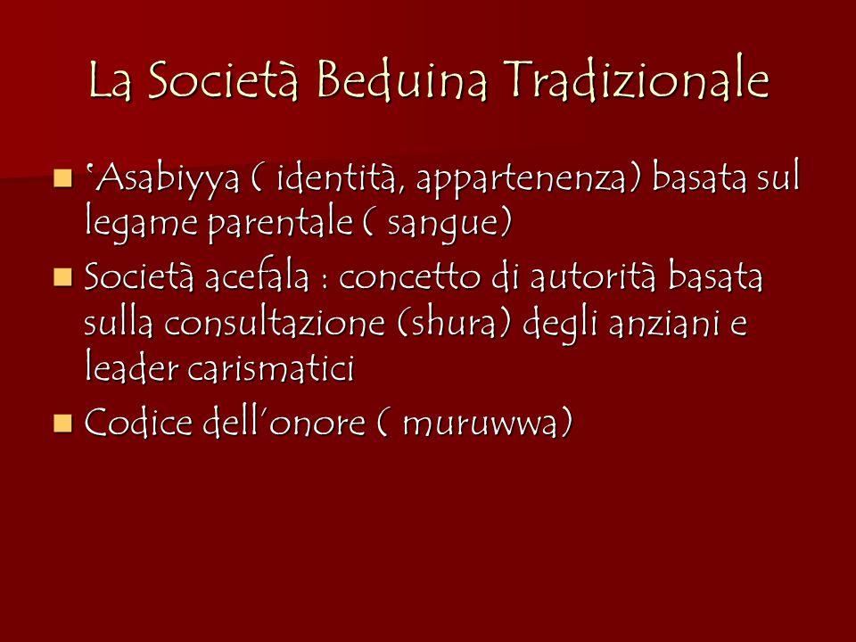 La Società Beduina Tradizionale
