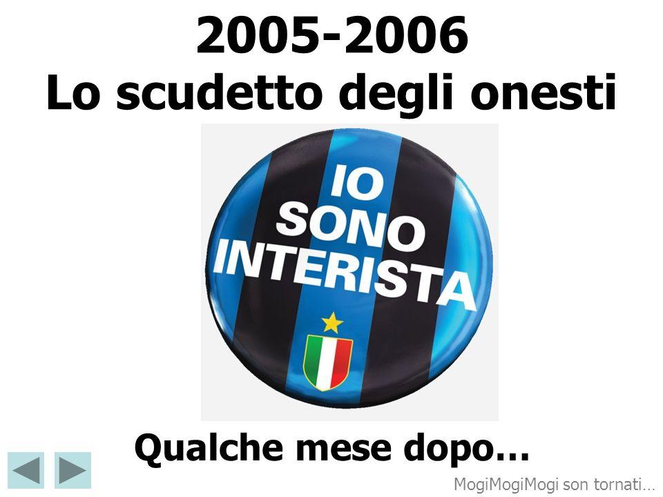 2005-2006 Lo scudetto degli onesti