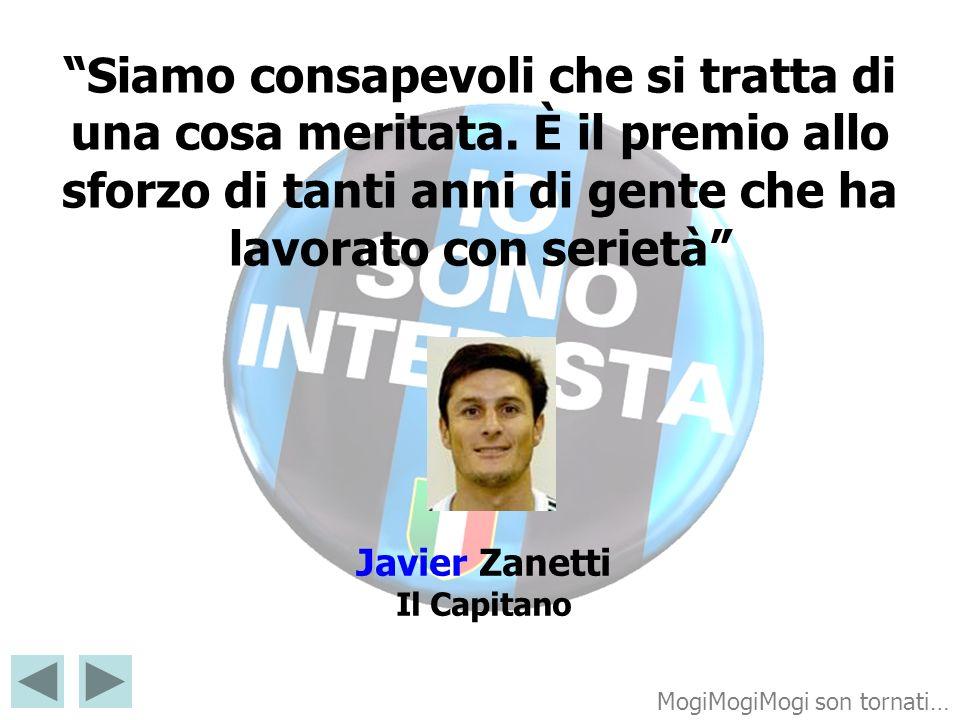 Javier Zanetti Il Capitano