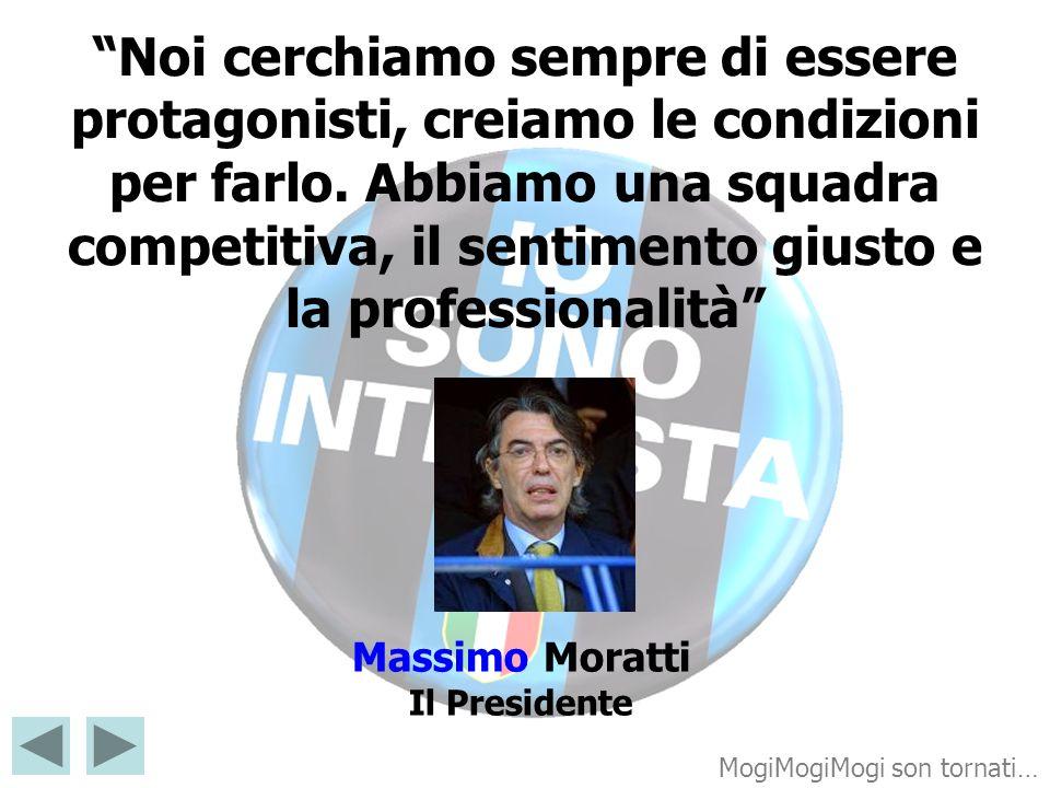 Massimo Moratti Il Presidente