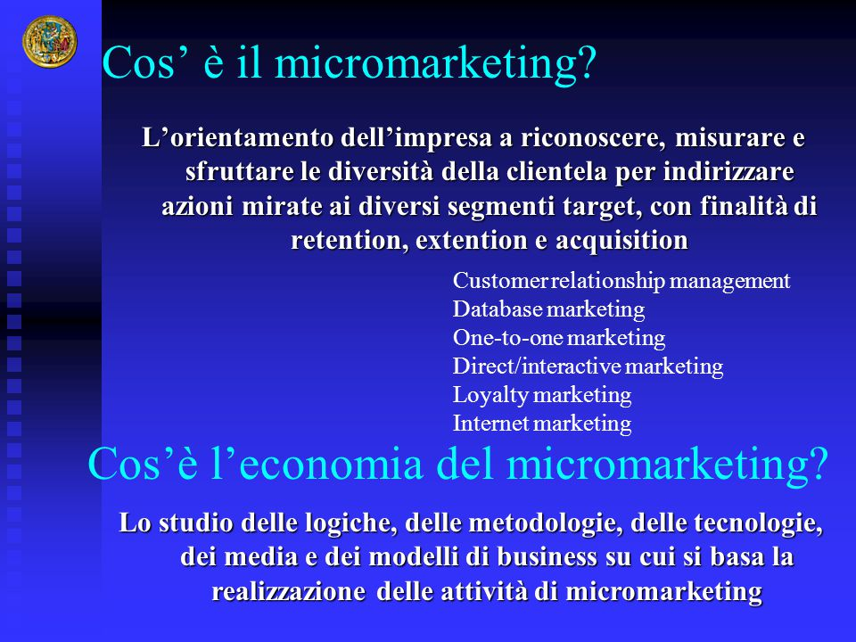 Cos' è il micromarketing